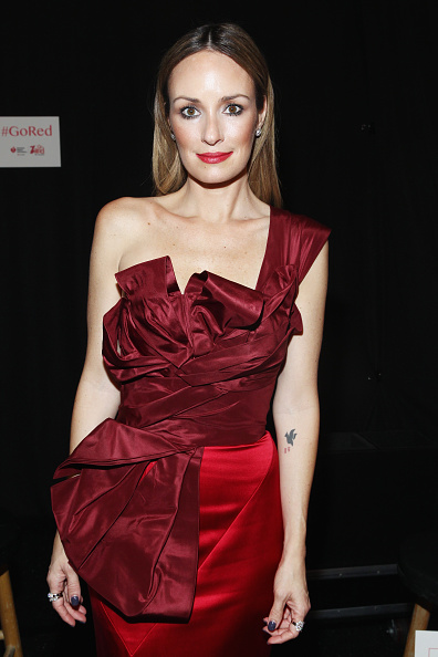Catt Sadler「Go Red For Women Red Dress Collection 2015 Presented By Macy's At Mercedes Benz Fashion Week - Backstage」:写真・画像(9)[壁紙.com]