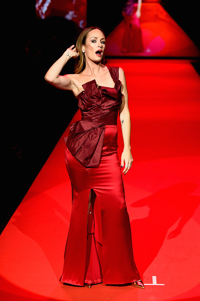 Catt Sadler「Go Red For Women Red Dress Collection 2015 Presented By Macy's At Mercedes Benz Fashion Week - Runway」:写真・画像(11)[壁紙.com]