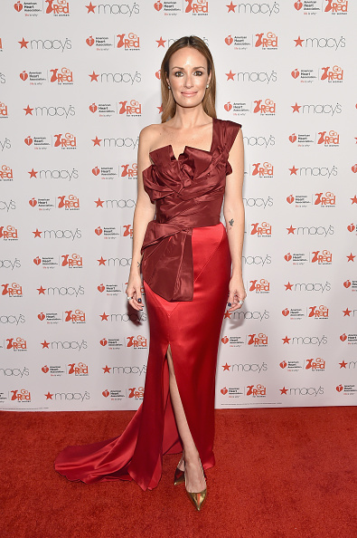 Catt Sadler「Go Red For Women Red Dress Collection 2015 Presented By Macy's At Mercedes Benz Fashion Week - Red Carpet」:写真・画像(1)[壁紙.com]