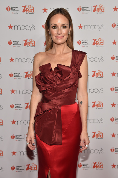 Catt Sadler「Go Red For Women Red Dress Collection 2015 Presented By Macy's At Mercedes Benz Fashion Week - Red Carpet」:写真・画像(0)[壁紙.com]