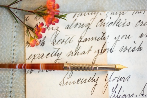 Handwriting「A personal note」:スマホ壁紙(19)