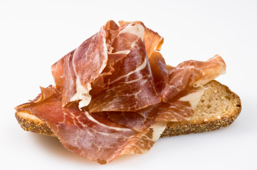 Loaf of Bread「Spanish cured ham canape (bocata de jamon)」:スマホ壁紙(11)
