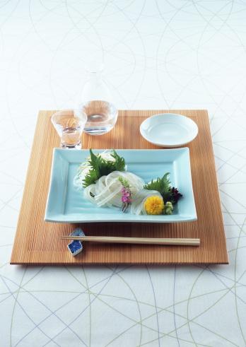 Sake「Arranged squid sashimi」:スマホ壁紙(13)