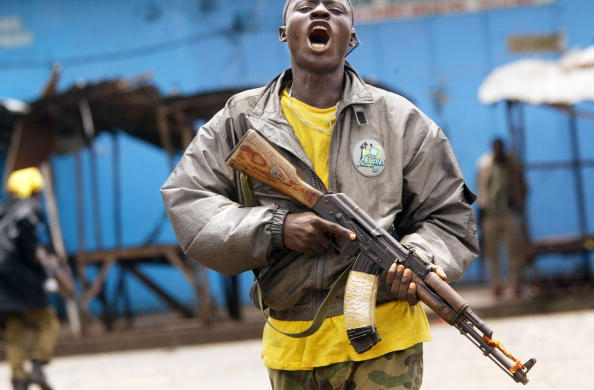 Focus On Foreground「Fighting Continues In Monrovia」:写真・画像(8)[壁紙.com]
