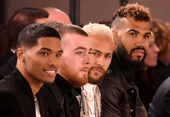 Neymar da Silva「Balmain : Front Row - Paris Fashion Week - Menswear F/W 2020-2021」:写真・画像(10)[壁紙.com]