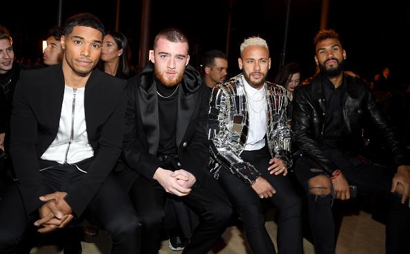 Neymar da Silva「Balmain : Front Row - Paris Fashion Week - Menswear F/W 2020-2021」:写真・画像(14)[壁紙.com]