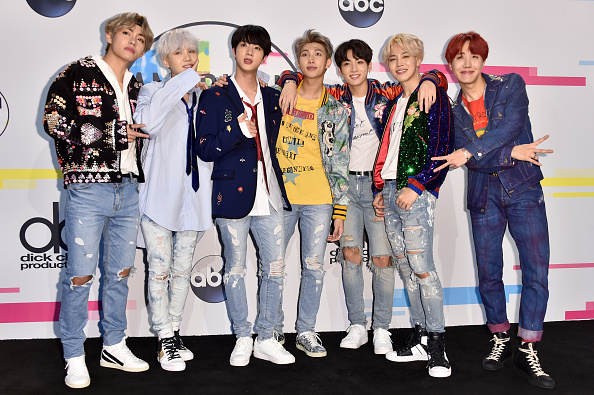 Bangtan Boys「2017 American Music Awards - Press Room」:写真・画像(3)[壁紙.com]