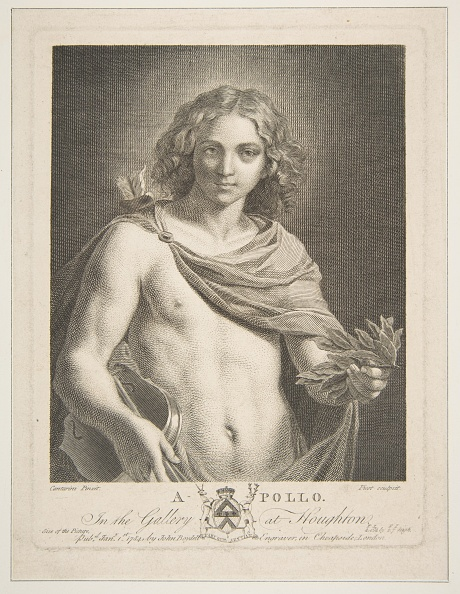 Violin「Apollo Wearing A Mantle And Holding A Laurel Branch And Violin」:写真・画像(7)[壁紙.com]