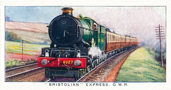 Cigarette Card「Bristolian Express」:写真・画像(8)[壁紙.com]