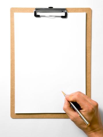 Human Hand「Blank Clipboard」:スマホ壁紙(14)