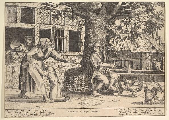 Etching「The Hen-Pecked Husba by  Peeter Van Der Borcht」:写真・画像(19)[壁紙.com]