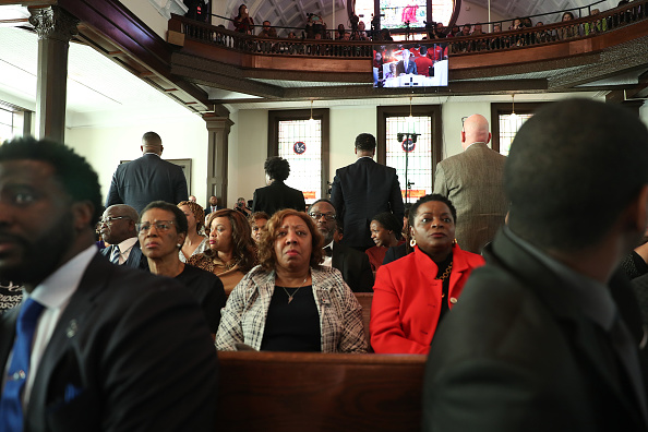 Brown Chapel AME Church - Selma「Democratic Presidential Candidate Mike Bloomberg Campaigns Ahead Of Super Tuesday」:写真・画像(13)[壁紙.com]