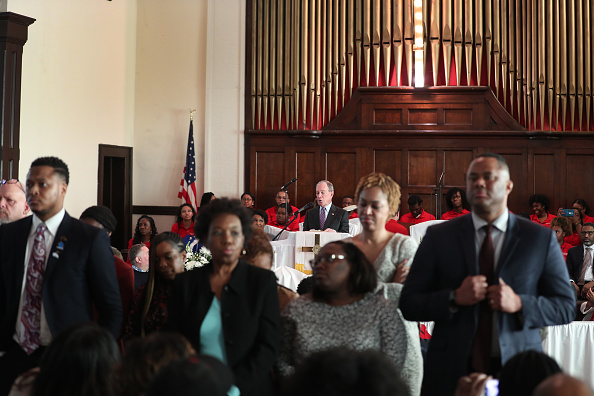 Brown Chapel AME Church - Selma「Democratic Presidential Candidate Mike Bloomberg Campaigns Ahead Of Super Tuesday」:写真・画像(0)[壁紙.com]