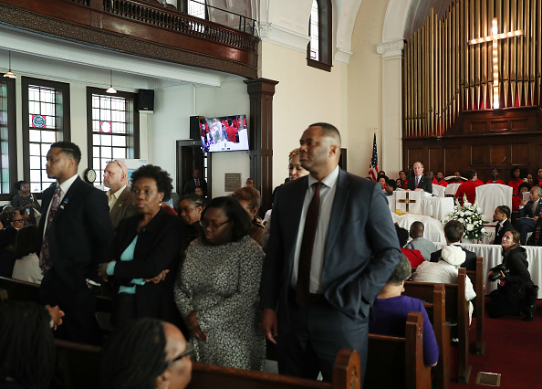 Brown Chapel AME Church - Selma「Democratic Presidential Candidate Mike Bloomberg Campaigns Ahead Of Super Tuesday」:写真・画像(16)[壁紙.com]