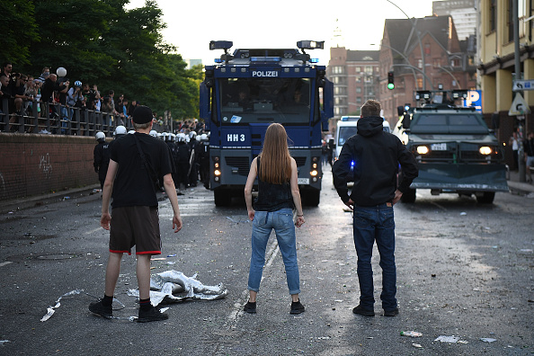 Leon Neal「Protesters March During The G20 Summit」:写真・画像(6)[壁紙.com]