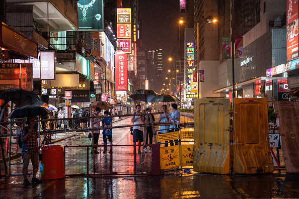 Mong Kok「Anti-Government Protests Continue in Hong Kong」:写真・画像(13)[壁紙.com]