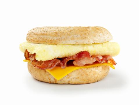 Bun - Bread「Bacon and Egg Breakfast Sandwich」:スマホ壁紙(8)