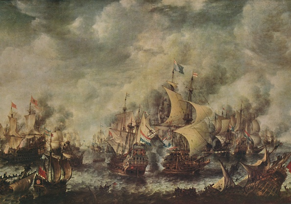 Netherlands「Sea Fight Between The English And Dutch Off Ter Heyde」:写真・画像(14)[壁紙.com]
