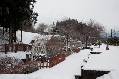 Nikko City「Watermills at Nikko Suginamiki Park」:スマホ壁紙(9)