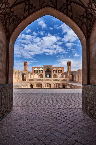 Iranian Culture「Mosque, Kashan, Iran」:スマホ壁紙(16)