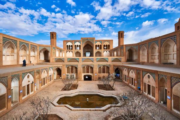 Mosque, Kashan, Iran:スマホ壁紙(壁紙.com)