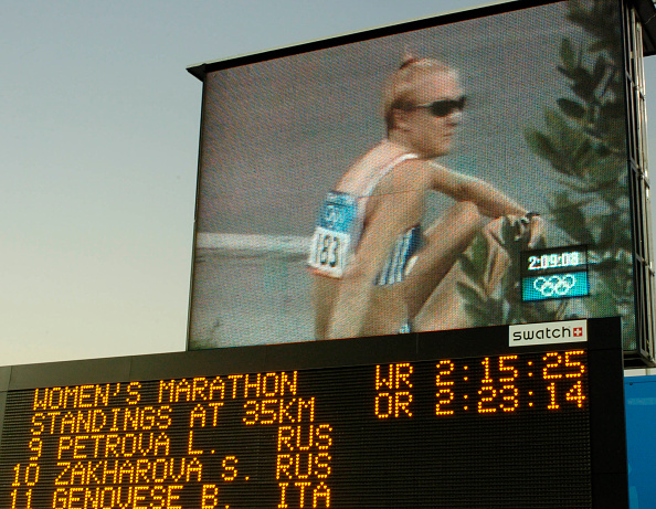 Paula Radcliffe「The 2004 Summer Olympic Games in Athens Greece」:写真・画像(5)[壁紙.com]