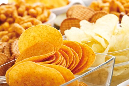 Eating「Assorted snacks, close-up」:スマホ壁紙(12)