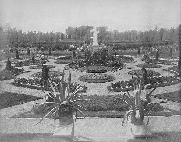 Flowerbed「Missouri Botanical Garden」:写真・画像(14)[壁紙.com]