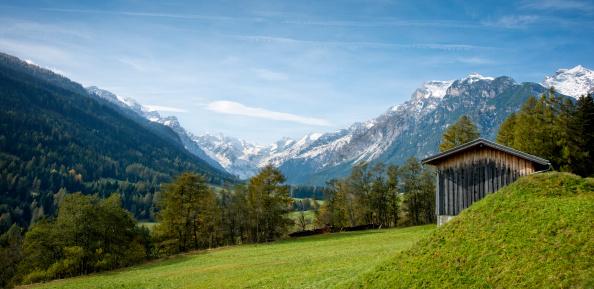 European Alps「Gschnitztal Valley, Stubai Alps」:スマホ壁紙(14)