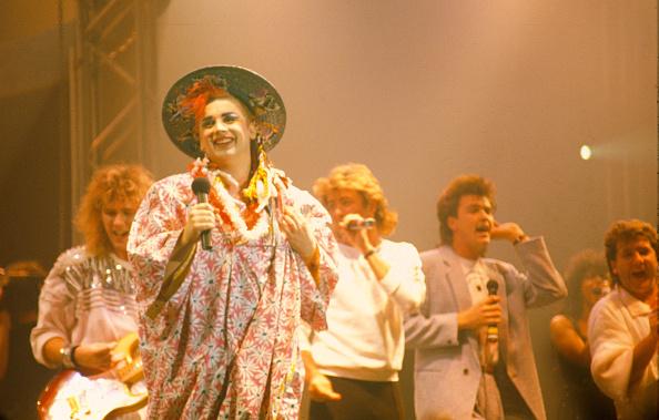 Cultures「Boy George Paul Young George Michael Tony Hadley performing Culture Club's show Wembley Arena」:写真・画像(11)[壁紙.com]