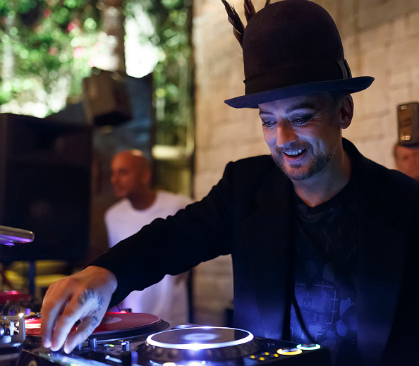Culture Club「Boy George/Culture Club Sold Out Concert After Party At Le Jardin Hollywood」:写真・画像(13)[壁紙.com]