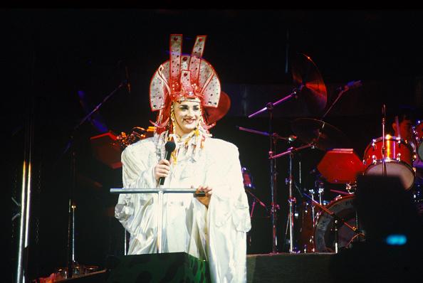 Culture Club「Boy George at Wembley Arena」:写真・画像(1)[壁紙.com]