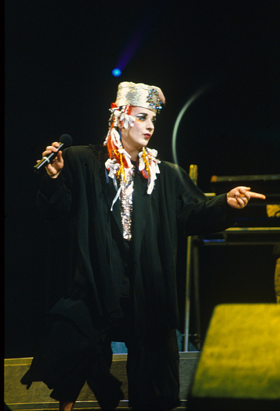Culture Club「Boy George at Wembley Arena」:写真・画像(10)[壁紙.com]