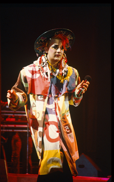 Culture Club「Boy George at Wembley Arena」:写真・画像(19)[壁紙.com]