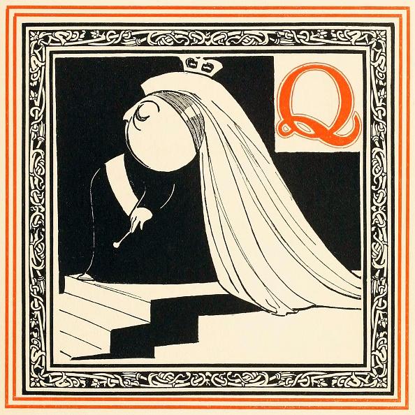 Cartoon「Q Is The Queen」:写真・画像(15)[壁紙.com]