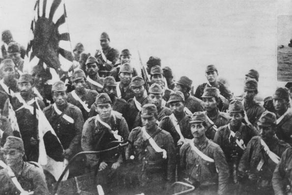 Japanese Military「Japanese Invasion Troops」:写真・画像(1)[壁紙.com]