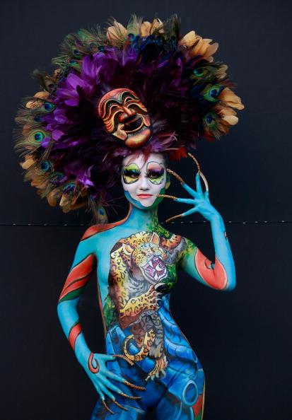 Stage Costume「2012 International Bodypainting Festival Takes Place」:写真・画像(13)[壁紙.com]