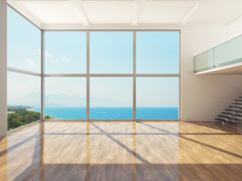 Sea「Empty Luxury Apartment Interior」:スマホ壁紙(1)