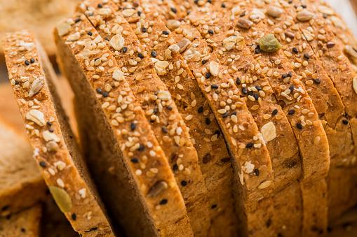 Loaf of Bread「Sliced brown bread」:スマホ壁紙(8)