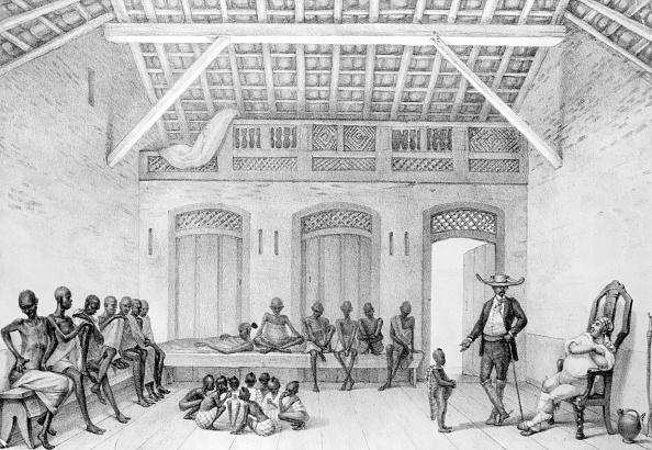 Engraved Image「African Slaves In Brazil」:写真・画像(11)[壁紙.com]