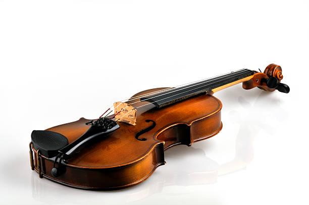 Violin on white:スマホ壁紙(壁紙.com)