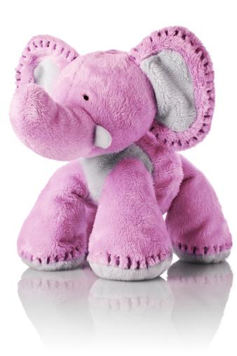 Stuffed「Pink elephant toy」:スマホ壁紙(7)