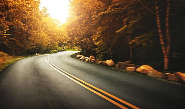 Us road on acadia national park:スマホ壁紙(壁紙.com)