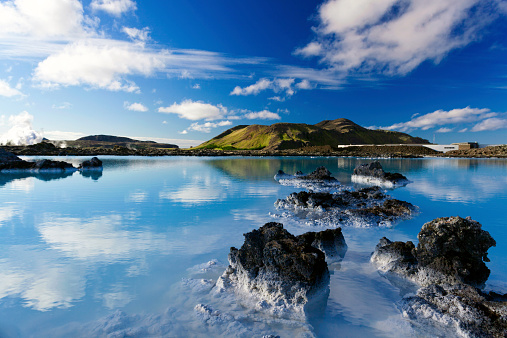 Active Volcano「Blue Lagoon in  Iceland」:スマホ壁紙(13)