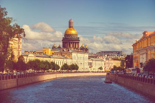 Neva River「St Isaac's cathedral, St Petersburg」:スマホ壁紙(6)