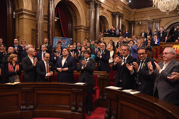 Catalonia「Pivotal Day For Catalan Independence As Crisis Comes To A Head」:写真・画像(9)[壁紙.com]