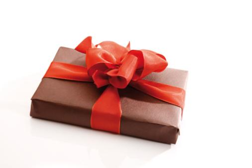 プレゼント「Gift parcel with red ribbon」:スマホ壁紙(7)