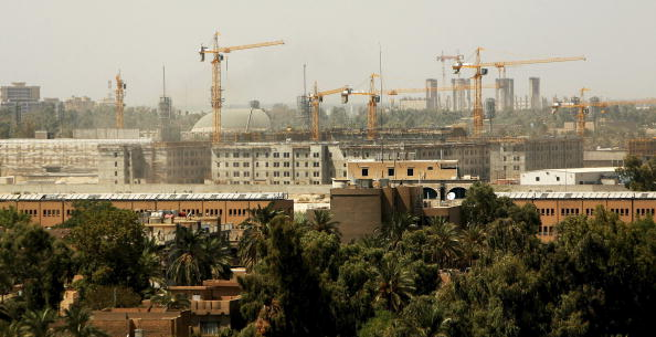 Green Zone - Baghdad「Embassy Compound Dominates Central Baghdad」:写真・画像(1)[壁紙.com]