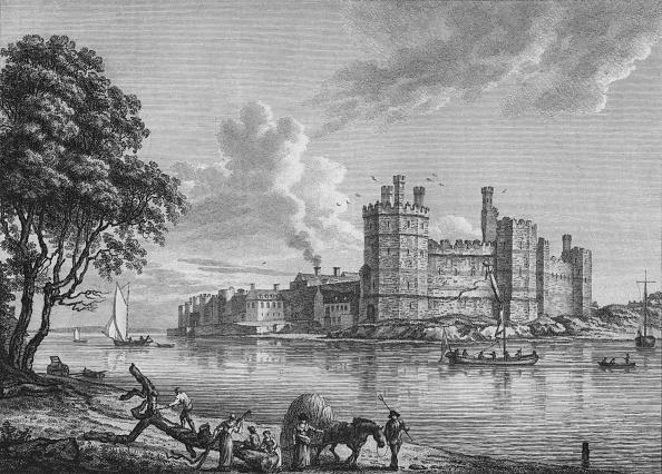 Engraving「Caernarvon Castle」:写真・画像(9)[壁紙.com]