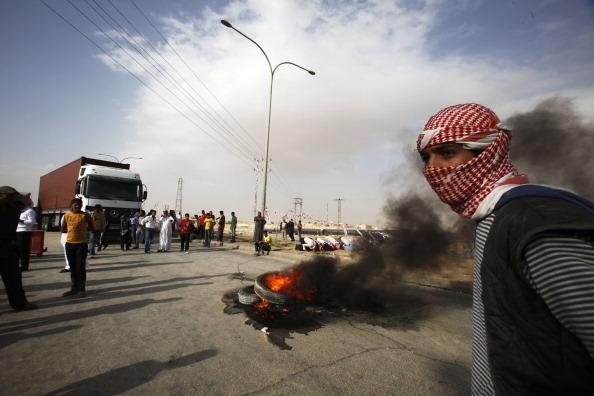 City Life「Armed Protesters Blockade Jordan's Main Highway」:写真・画像(12)[壁紙.com]